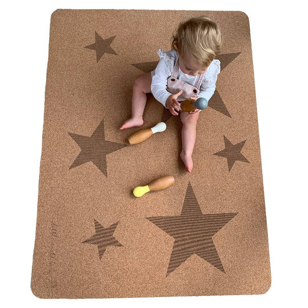 Non-Toxic & Natural | Star Play Mat - Small