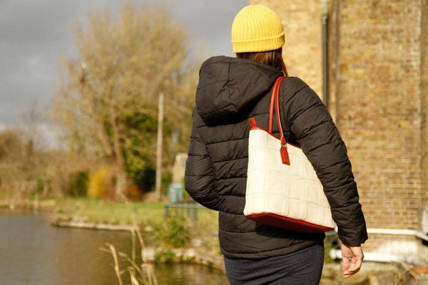 Fire & Hide Small Tote Bag