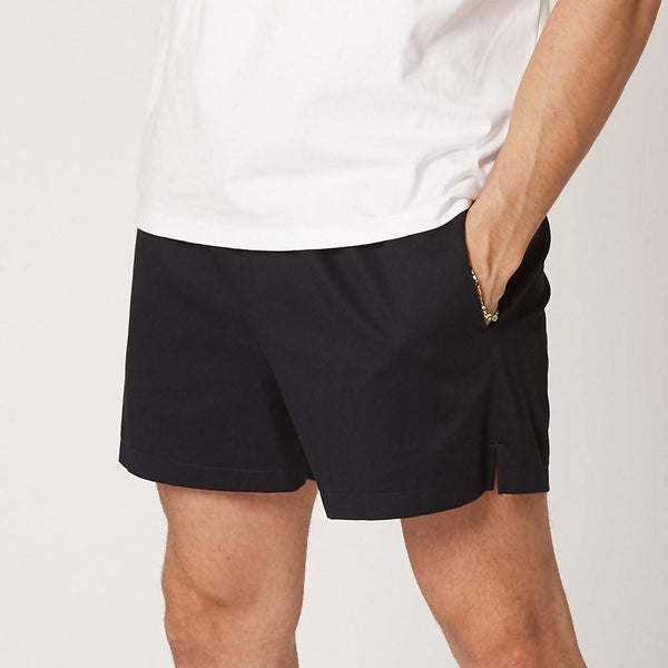 Mens Navy Organic Cotton Shorts