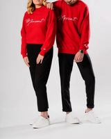 Signature Sweater - Red