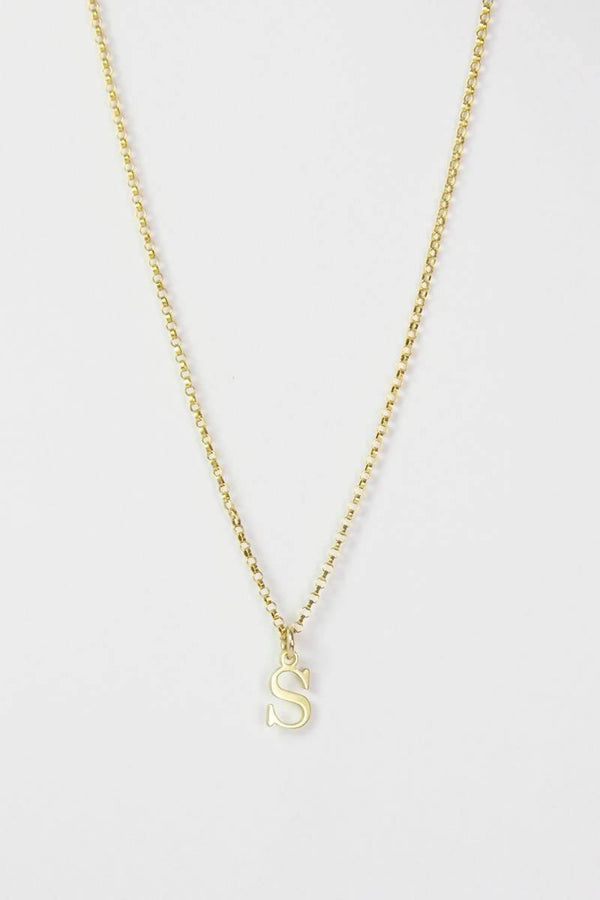 Say My Name Initial Necklace - Sellers With A Story