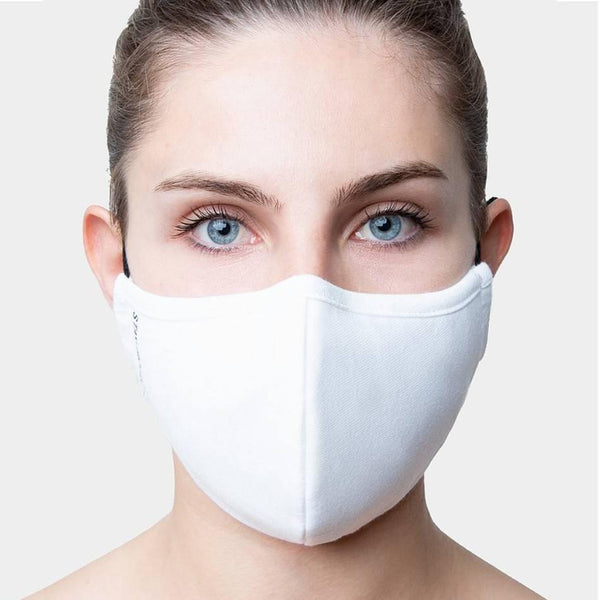 Plain White Organic Cotton Face Mask - Sellers With A Story