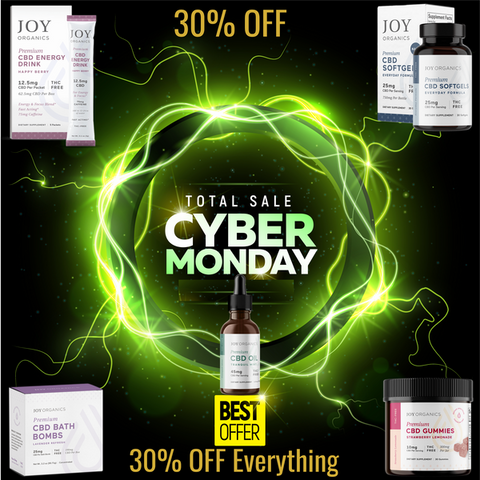 pairidaeza health joy organics cbd black friday cyber monday