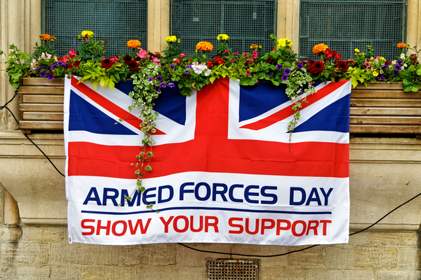 Armed Forces Day UK show your support