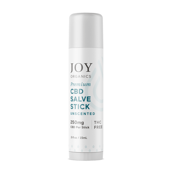 CBD Salve Stick Unscented - Joy Organics