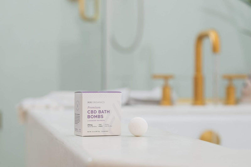 CBD Products for Bath - best CBD bath bombs in the UK