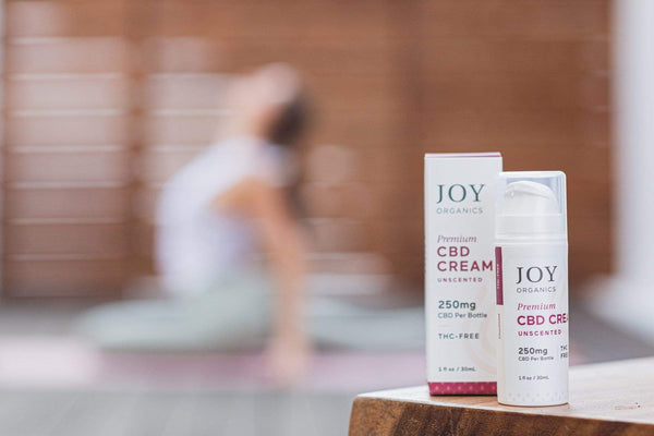 CBD Cream Uncscented - Joy Organics
