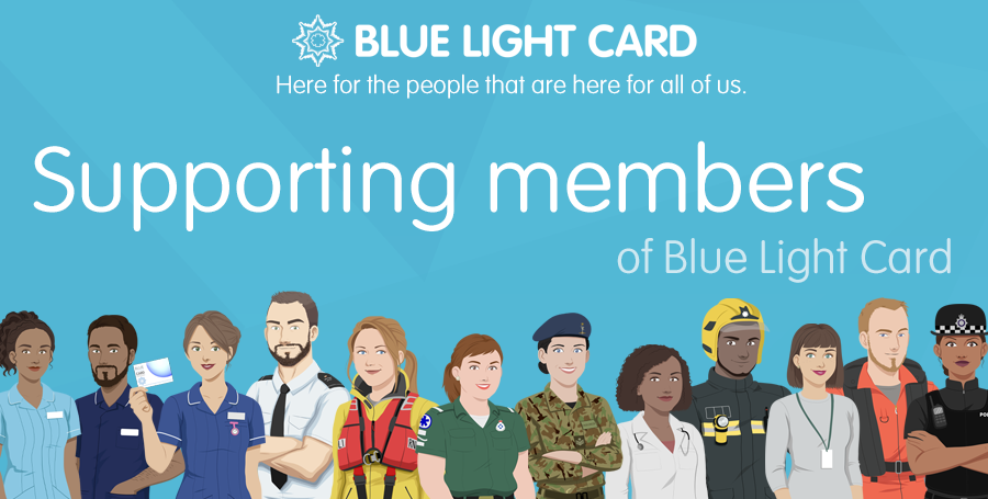 Supporting Blue Light Card holders