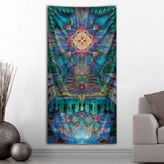 Alpha Centauri Tapestry by Luke Brown