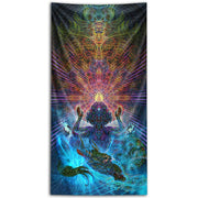 Mantis Daka Tapestry by Luke Brown