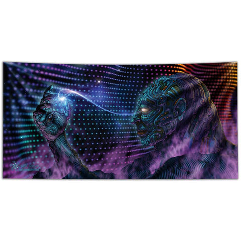 Starseed Dreamer Tapestry by Luke Brown