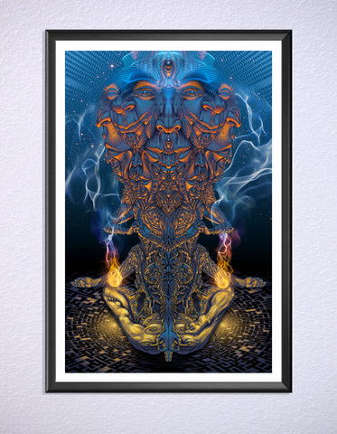 Vishvarupa Print by Luke Brown
