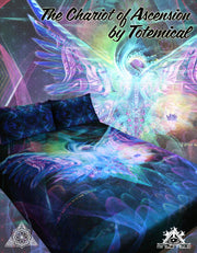 The Chariot of Ascension Bed Set by Totemical
