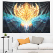 Cosmic Phoenix Tapestry by Olivia Curry