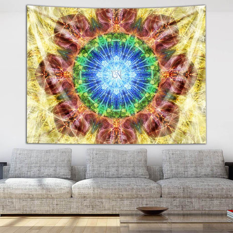 Dzogchen Tapestry by Olivia Curry