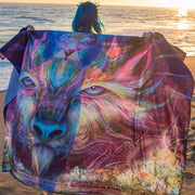 Gaia Guardian Tapestry by Olivia Curry