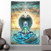 Kundalini Tapestry by Olivia Curry