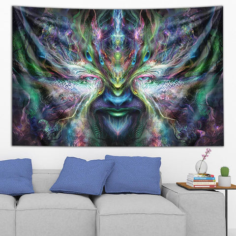Rainbow Spirit Tapestry by Olivia Curry