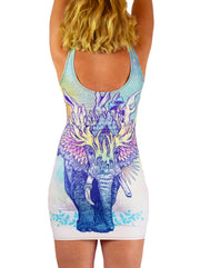 Spirit Elephant Dress by Mat Miller