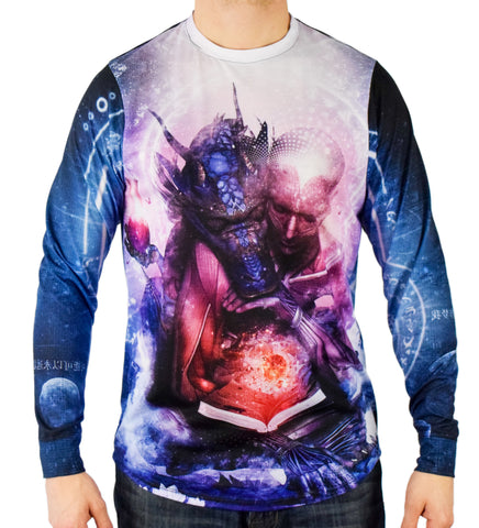 Perhaps Dreams are of Soulmates Long Sleeve Tee by Cameron Gray