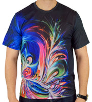 Inverted Inside a Memory Short Sleeve Tee Shirt by Artfool