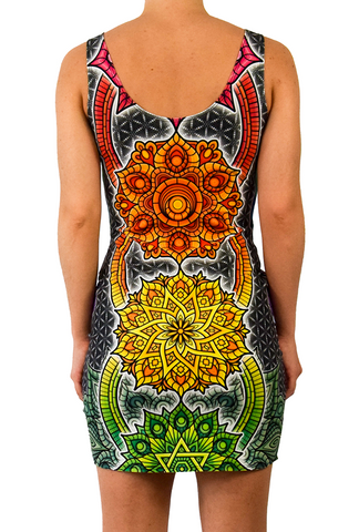 Chakra Bliss Dress by I Am Electric