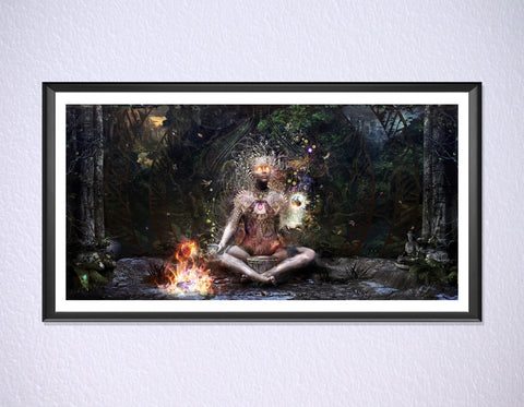 Sacrament For The Sacred Dreamers Print by Cameron Gray