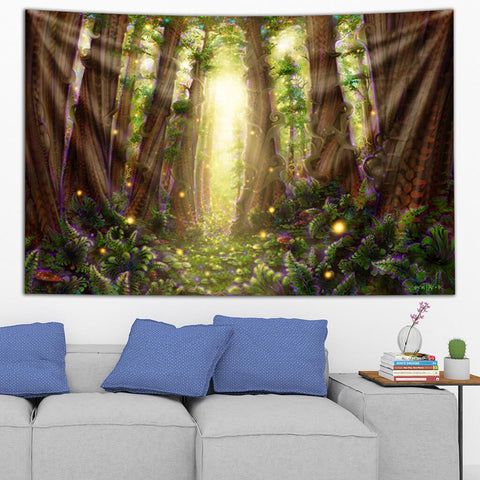 Dream Glade Metta Tapestry by Simon Haiduk