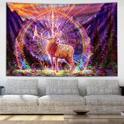 Elk Song Tapestry by Simon Haiduk