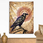 Raven Magic Tapestry by Simon Haiduk