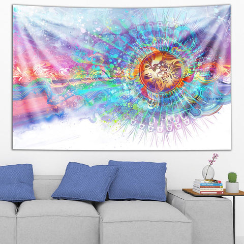 Solar Wave Tapestry by Simon Haiduk