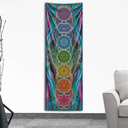 Chakra Bliss Tapestry by I Am Electric