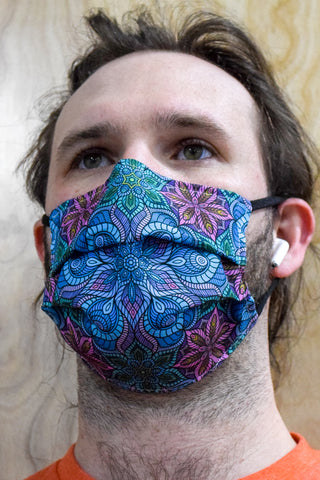 Tesselation Surgical PPE Face Mask by I Am Electric