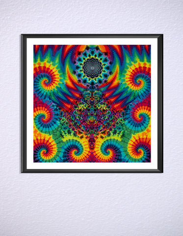 Liquid Visions Print by Austin Mackereth