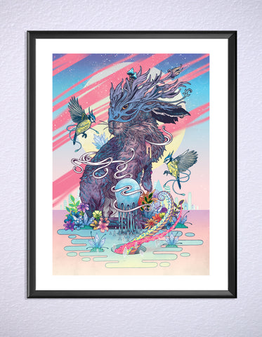 Communion Print by Mat Miller