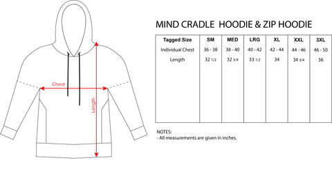 Code Within Hoodie by Cameron Gray