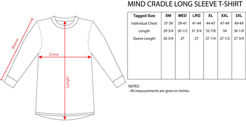 Bend Long Sleeve Tee by TAS