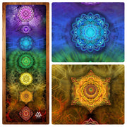 Chakra Systems Yoga Mat by Mark Munson