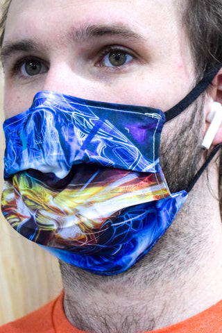 Hands of the Machine Surgical PPE Face Mask by Psybe Industries