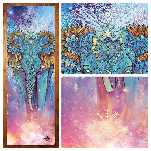 Elephant Spirit Yoga Mat by Sylance
