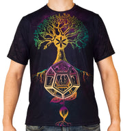 Divine Balance Short Sleeve Tee Shirt by Mil Et Une
