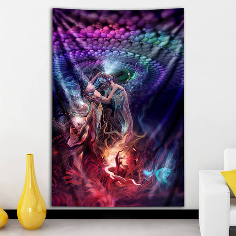 Attunement Tapestry by Totemical