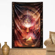 Beckoning Backtun Tapestry by Totemical