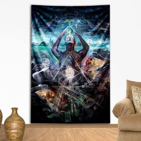 Hustle Tapestry by Totemical
