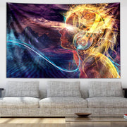 Solar Flare Tapestry by Totemical