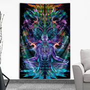 Synapse Pinball Tapestry by Totemical