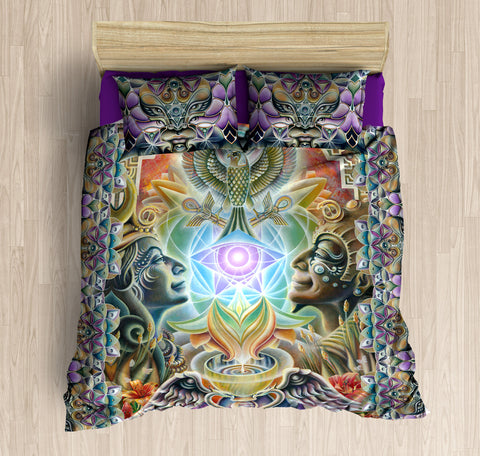 The One Eye Love Bed Set by Ishka Lha