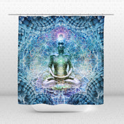 Bliss Shower Curtain by Dima Yastronaut