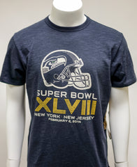 '47 Brand Seahawks Super Bowl Midnight Scrum Tee