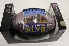 Full Size Super Bowl Commemorative Football